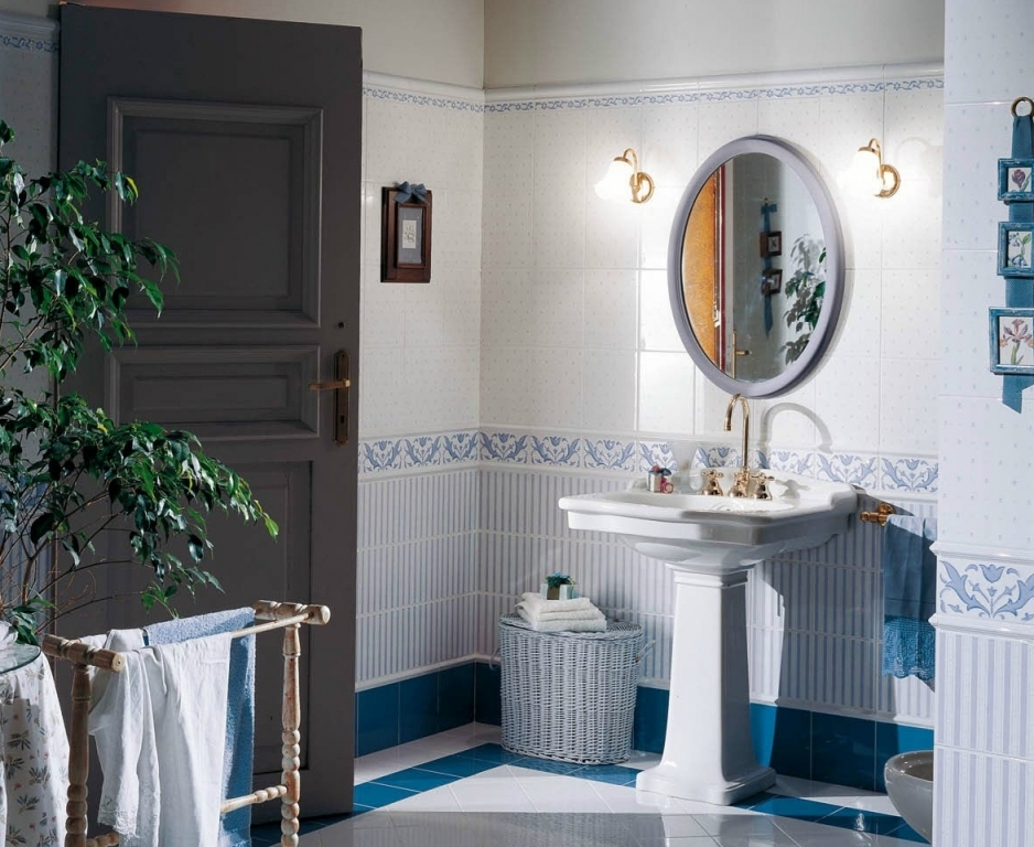 series Retro koupelna Brennero (Fineza) Ricordi Country - Bleu