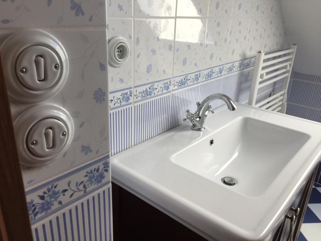 series Obklady koupelna inspirace Brennero (Fineza) Ricordi Romantica Bleu
