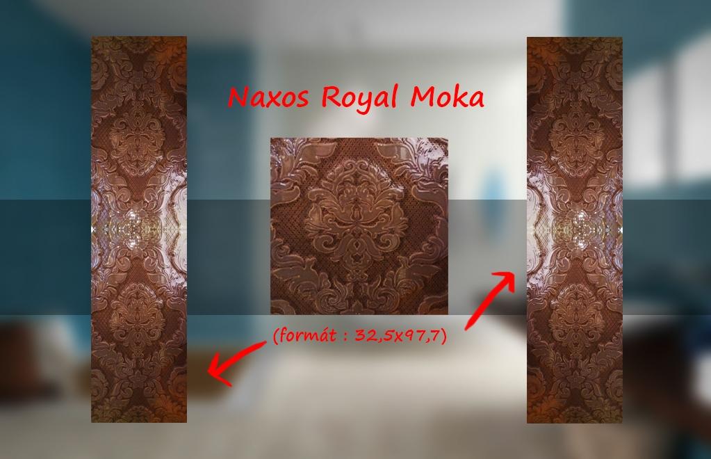 series Obklady a dlažby výprodej Naxos Royal Ivory & Moka velkoformátové obklady