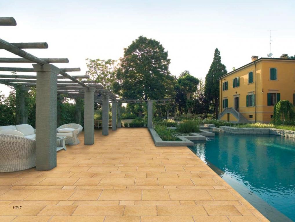 series Venkovní dlažba kolem bazénu Del Conca Tivoli HTV 7