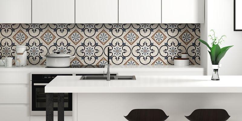 series Obklad se vzory do kuchyně od výrobce Del Conca LD London Faetano