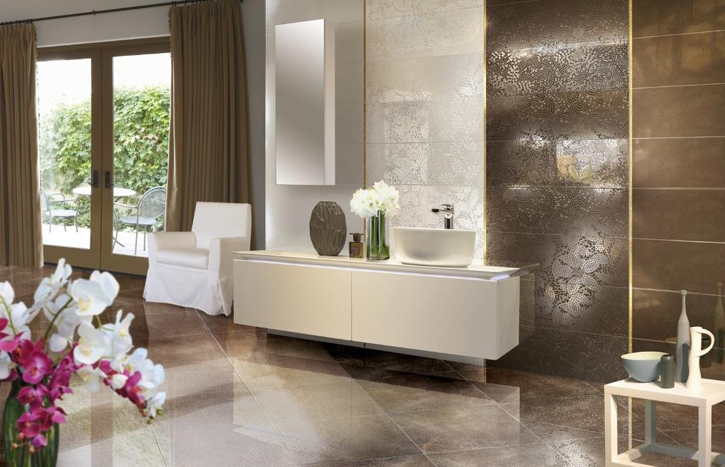 series Nevšední a zajímavá koupelna Brennero Luce Charme