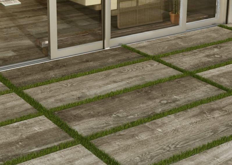 series 2 cm dlažba v dekoru dřeva Del Conca Dolomiti - HDL203 Natural 40x120