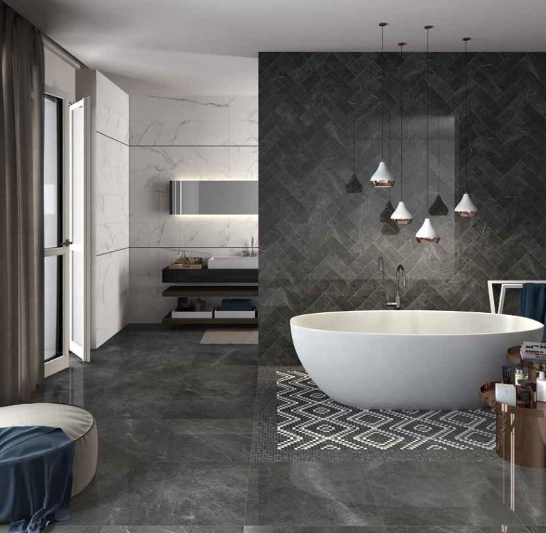 series ABK Sensi Pietra Grey Lux+ 60*60 a 10*30