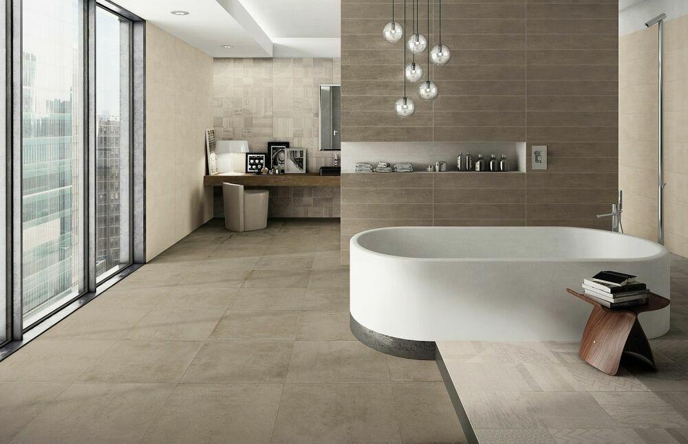 series Koupelna s dekory Naxos Start Plaster & Taupe