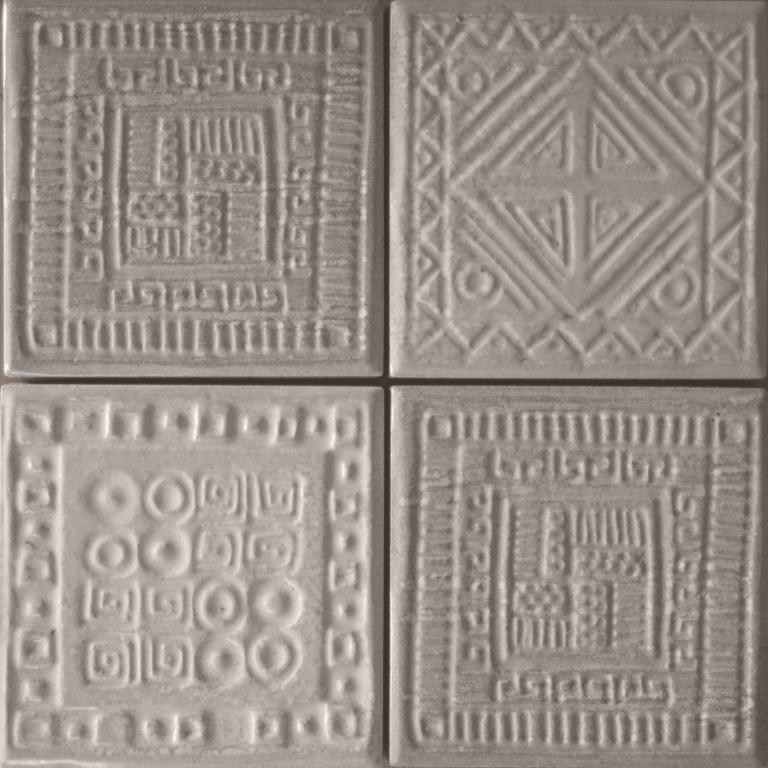 series Šedé dekory Elios Crete del Borgo Etnico Grigio 10*10 levně!