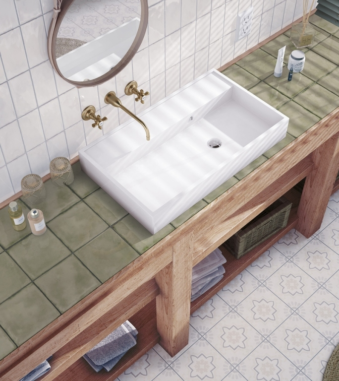 series Moderní retro koupelna Equipe Splendours