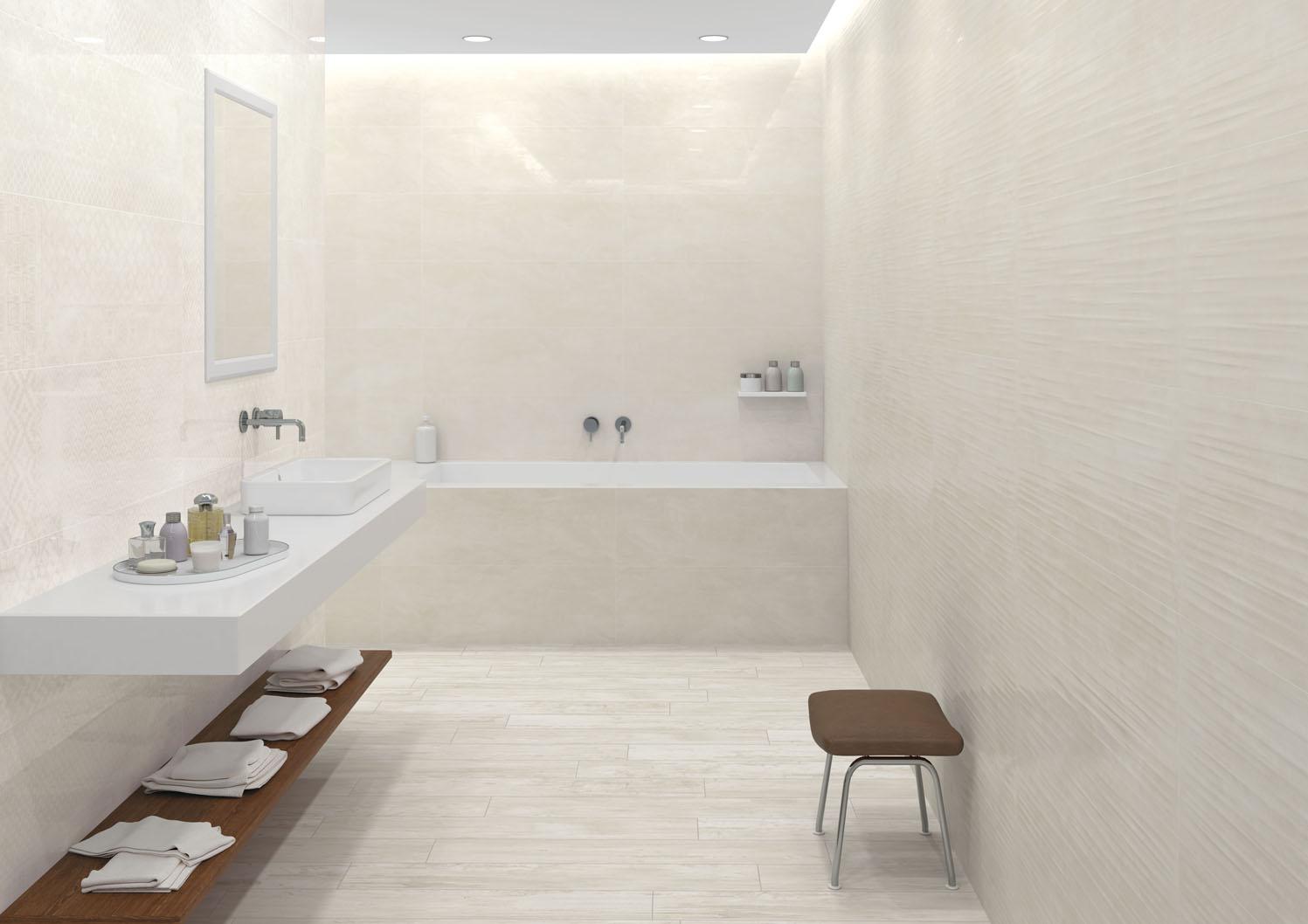 Aleluia Ceramicas Board Cream 30x60 Béžová, Krémová R865