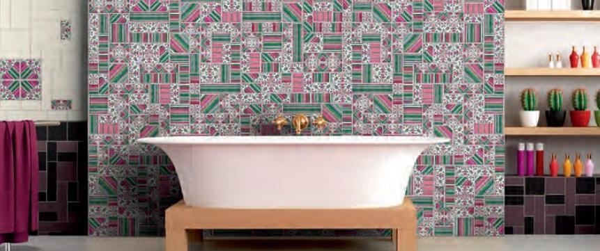 series Obklad koupelny Latina Florencia & Conjunto Espina