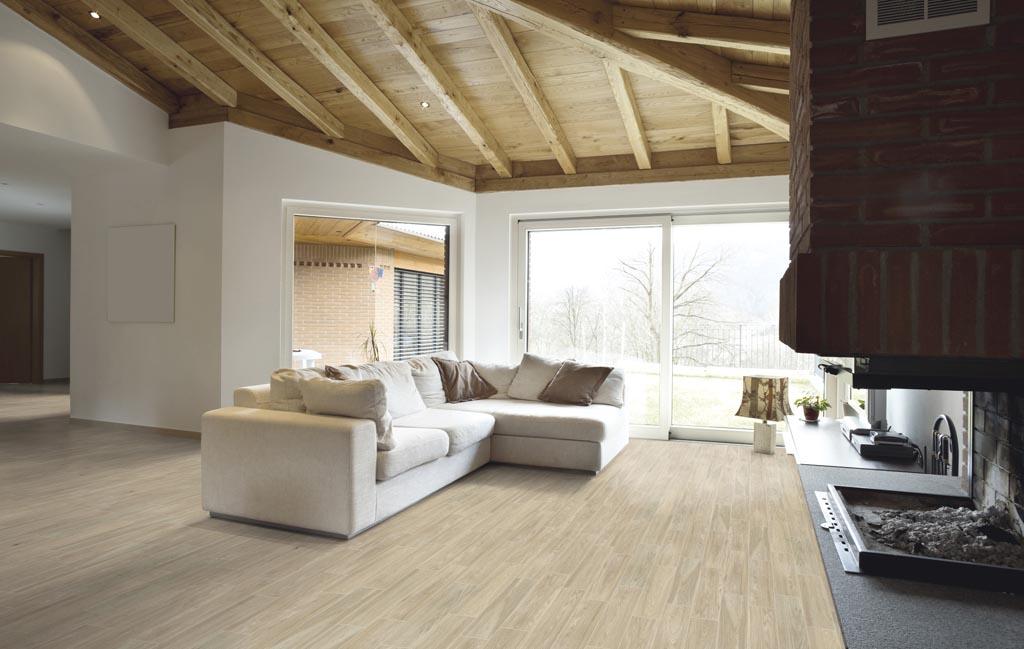series La Fenice Rovere Natural 15x60 - drobná dlažba v designu dřeva