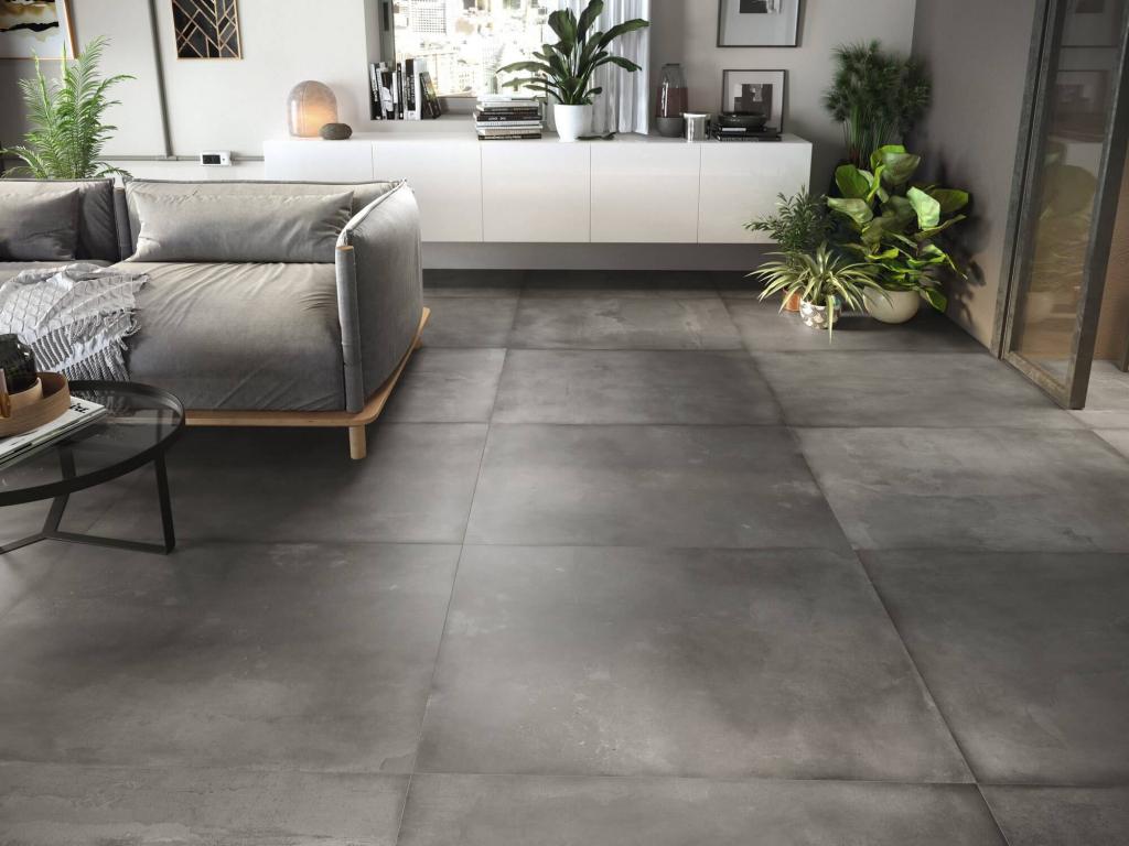series Tmavá dlažba imitující beton Ape City Mood