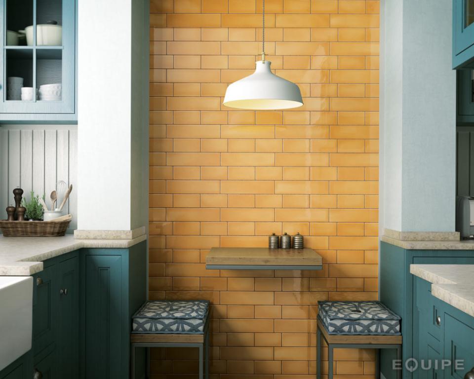 series Lesklý obklad na stěnu kuchyně Equipe Crackle