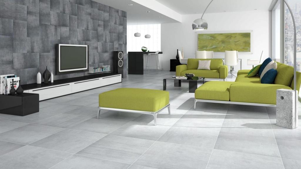 series Moderní minimalistická šedá a antracitová dlažba Codicer Cement Gris