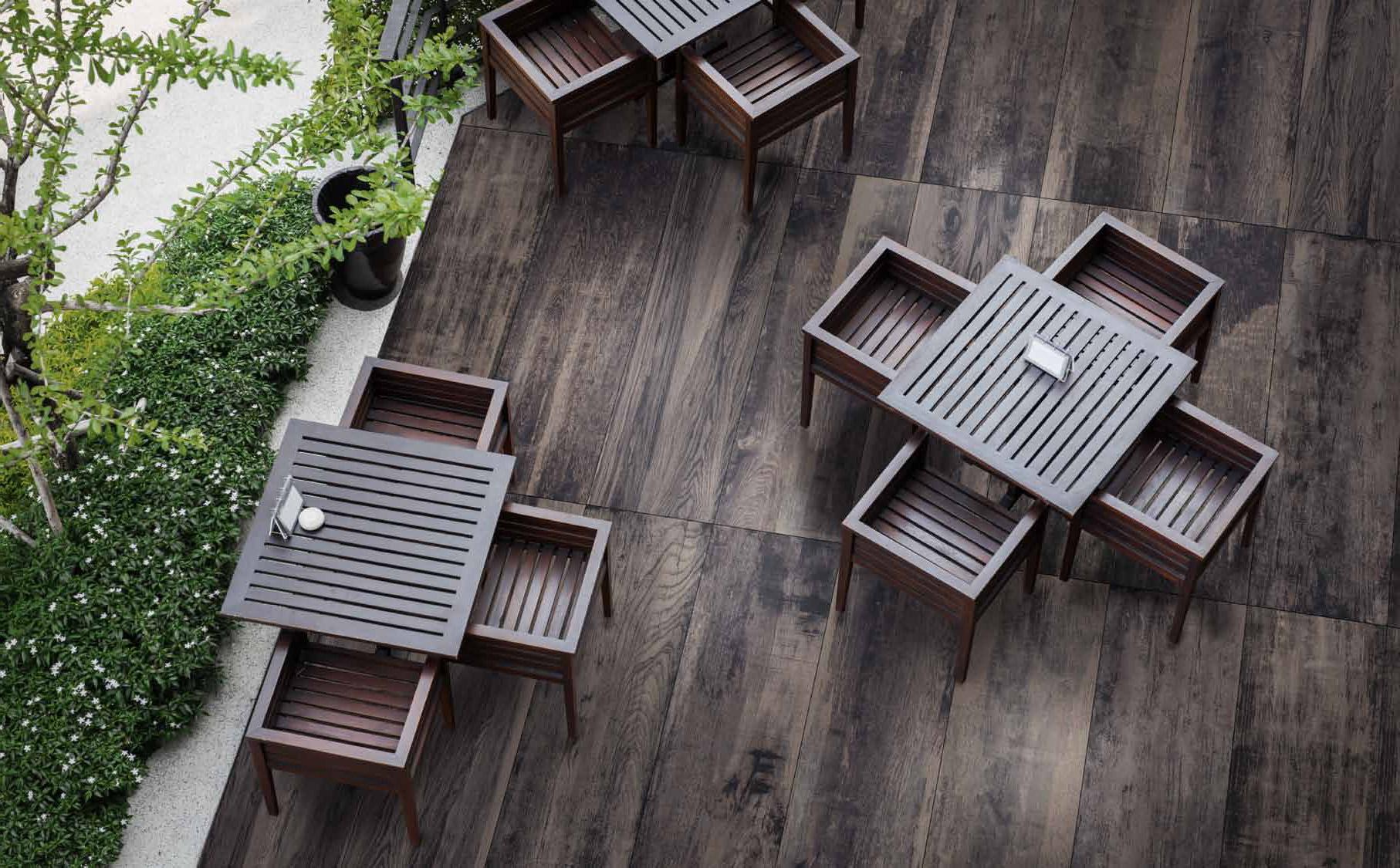 series Tmavší 20mm dlažba imitující dřevo od výrobce Del Conca HVW208 Vignoni Wood