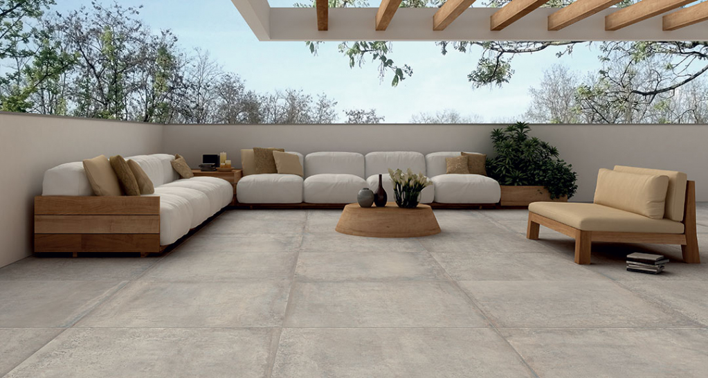 series KERAMICKÁ DLAŽBA a imitace betonu Castelvetro Materika 2CM
