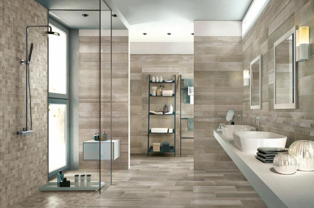 series OBKLAD v dekoru dřeva vhodný koupelny Sichenia Iron Tortora