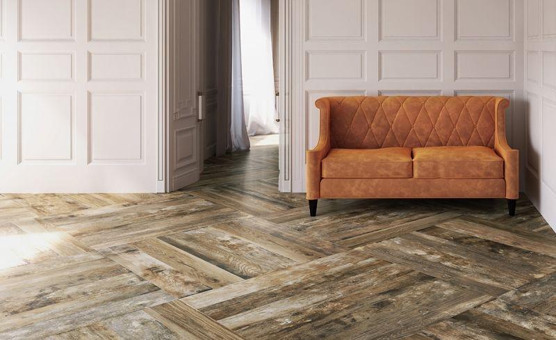 series Dlažba do interiéru v imitaci dřeva od výrobce Del Conca VW1 Vignoni Wood Beige
