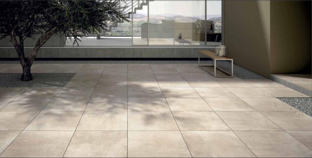 series Dvoucentimetrová dlažba imitace světlého kamene Century Two.0 Terra