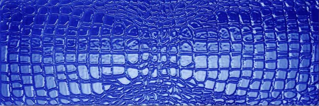 Settecento Crocotiles Croco Joy Blue 24x72 Modrá 760055
