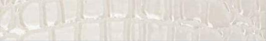 Settecento Crocotiles List. Croco Joy White 3,8x24 Bílá 76924