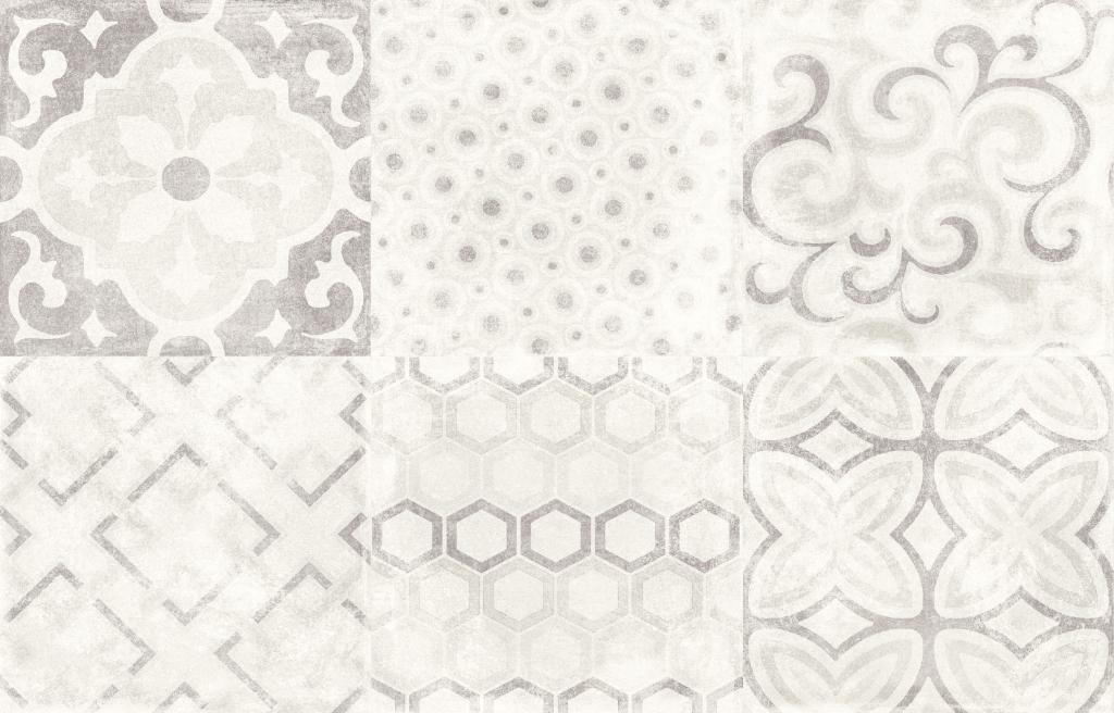 Aleluia Ceramicas Alpe Decor Hidra Alpe Grey 26,7x41,6 Šedá 3159(A)