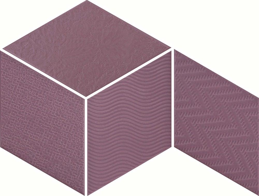 Equipe Rhombus Violet Mix 14x24 Fialová 21313