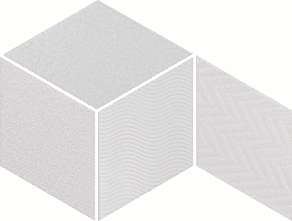 Equipe Rhombus White Mix 14x24 Bílá 21294