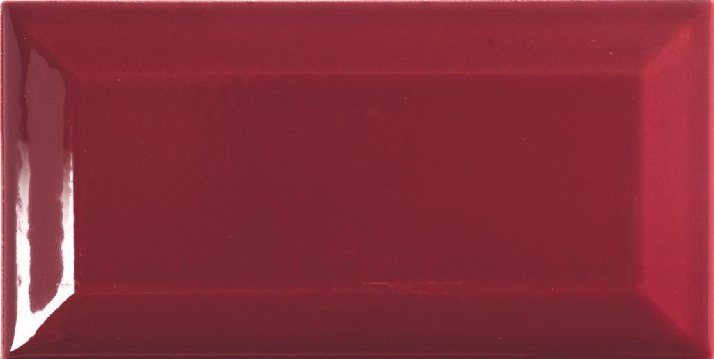 Tonalite Diamante Bordeaux Diamante 7,5x15 Vínová 77562