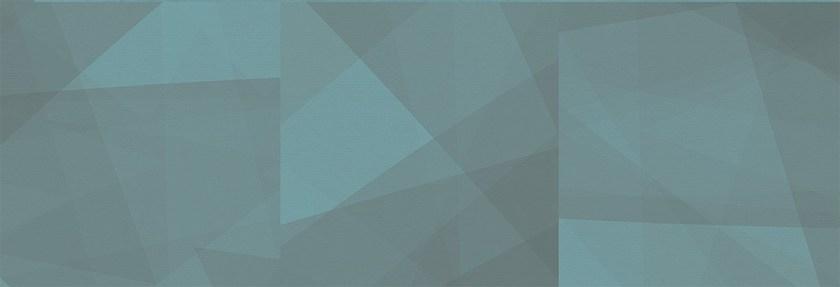 Aleluia Ceramicas Board Decor Geo Teal 30x60 Modrá, Tyrkysová R882