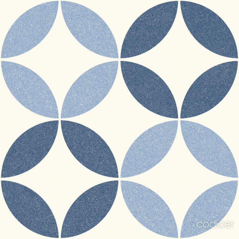 Codicer Riviera Nice Blue 25x25 Modrá, Šedá, Bílá 7449