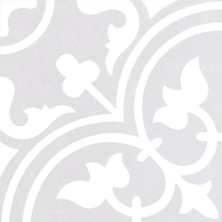 Codicer Arte Soft Grey 25*25 Bílá, Šedá světlá 7666