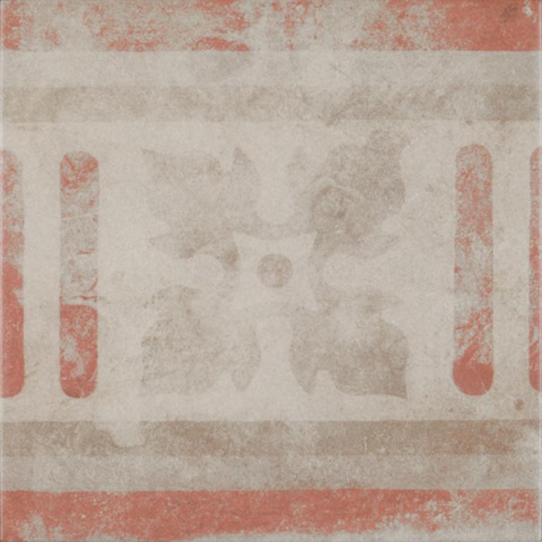 Codicer Antica Pompei Mix Rosso 25x25 Hnědá, Krémová, Cihlová, Hnědá světlá 6003