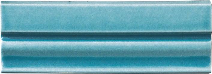 Grazia Ermi.Deco Finale Pavone Matt 6,5x20 Modrá FIE99