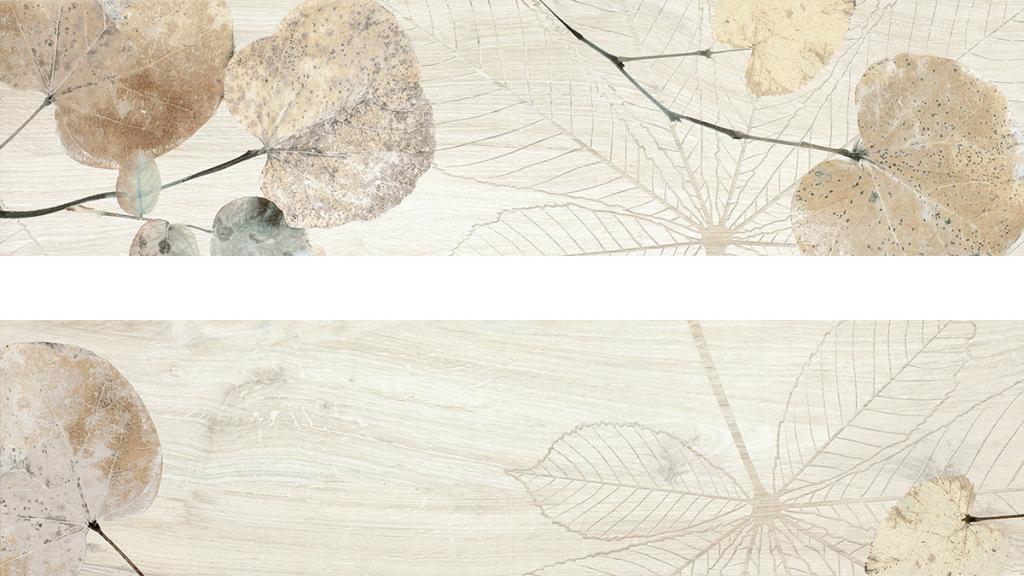 Del Conca FI Foreste D'Italia Bianco Foliage FI 10 20x80 Bílá, Krémová 27Fi10FO