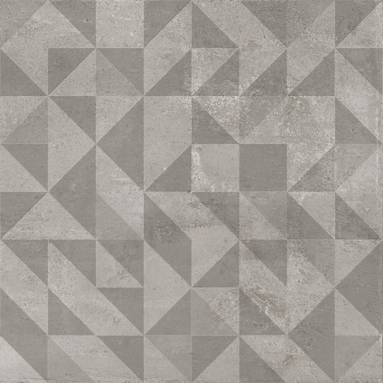 Aleluia Concrete Decor Shadow 59,2X59,2 Rett. Natural Šedá, Antracitová PT65R