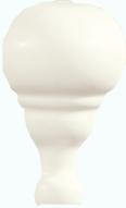Grazia Cottage Ang. Toro Bianco Matt 3x6,5 Bílá, Krémová TOA01