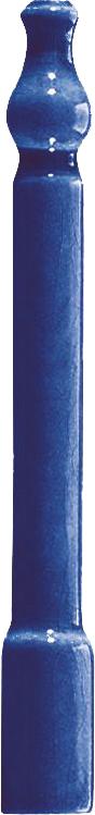 Grazia Venice Ang. Zoccolo Cobalt Craquele 2x20 Modrá ZOE9
