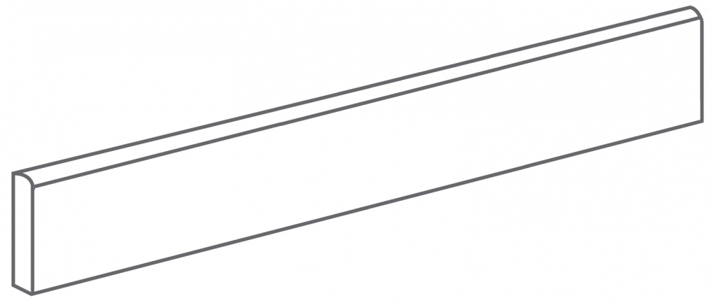 Arcana Fulson Skirting tile Antracita 9,4X60 (sokl) Černá Fulson Skir. Antracita R.318