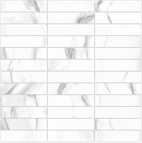 Arcana Hope Darney Mosaic Blanco 30x30 Bílá, Šedá světlá Hope Dar.Mos. Blanco R.343