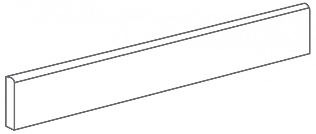Arcana Tortona Skirting tile Plomo 9,4x60 (sokl) Šedá, Hnědá Tortona Skir. Plomo R.318