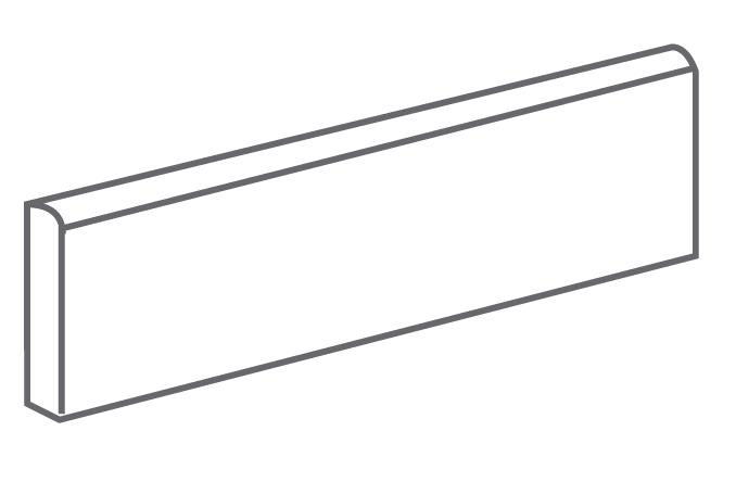 Arcana Tortona Skirting tile Antracita 9,4x30 (sokl) Černá, Šedá tmavá Tortona Skir. Antracita R.308