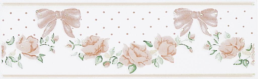Brennero Ricordi Rose Salmone  list. alto 6x20 Lososová LIRS