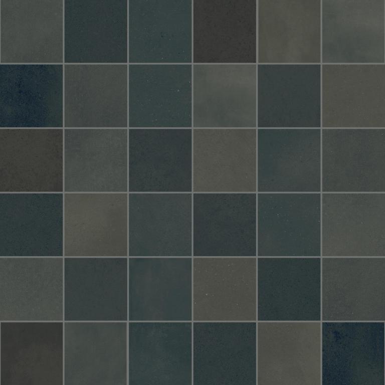 41zero42 Mate Mosaic Terra Oliva 30x30 Černá 4100091
