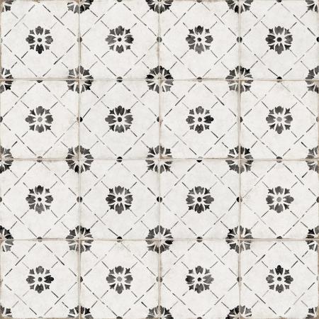 Del Conca/Faetano Sorrento Vintage 20x20 (Sorrentina Nocelle) - 1. jakost Černá, Bílá, Černobílá 20RR05