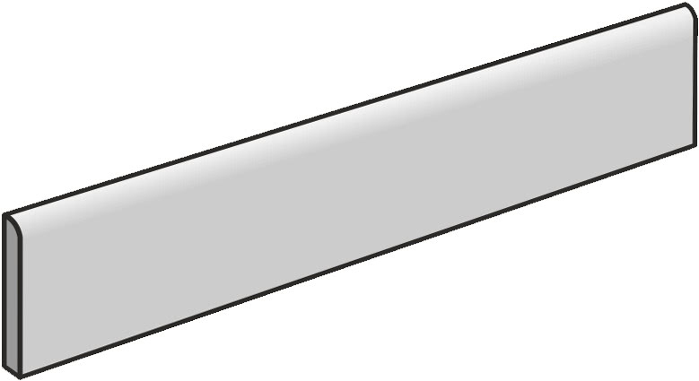 41zero42 Yaki Carbo Skirting 7,5x120 (sokl) Černá 4100168