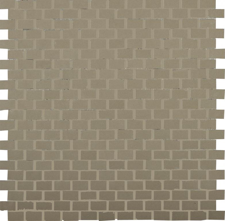 41zero42 Clay41 Mosaic Bricky Mud 30x30 Šedá, Hnědá 4100309