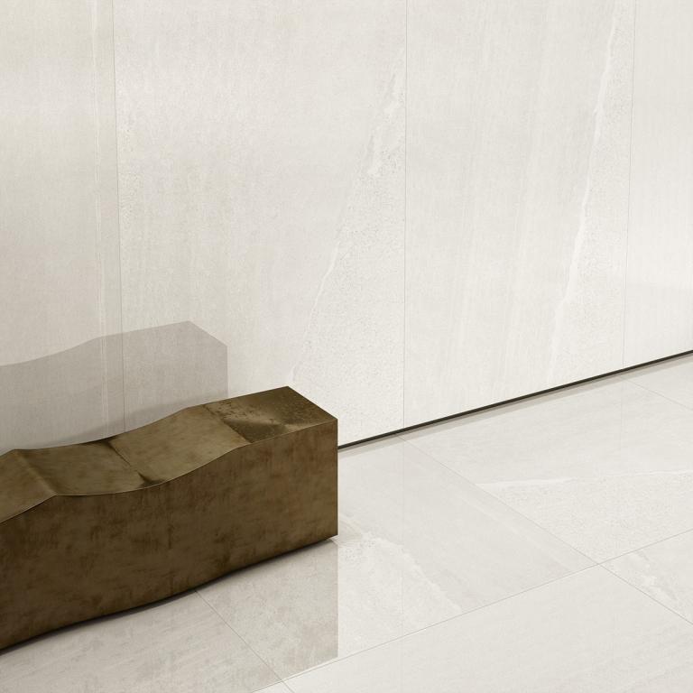 EdimaxAstor Sands White 60,4x121 Lux Rett  Bílá 3541A4