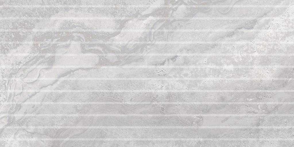 EdimaxAstor Stream Flutes Silver 30x60 Rett Šedá, Stříbrná 6FJ1