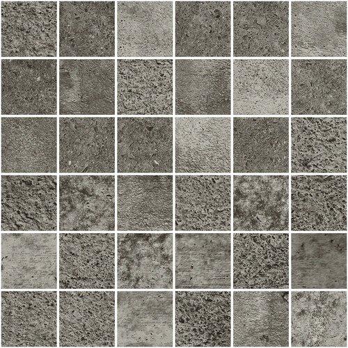 APE Mars Mosaico Graphite 30x30 Antracitová, Šedá tmavá A034817/K01