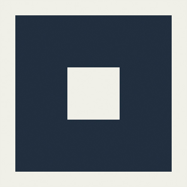 EdimaxAstor Twenty Blues Decoro C 20x20 Natural Ret Modrá, Bílá 38B177